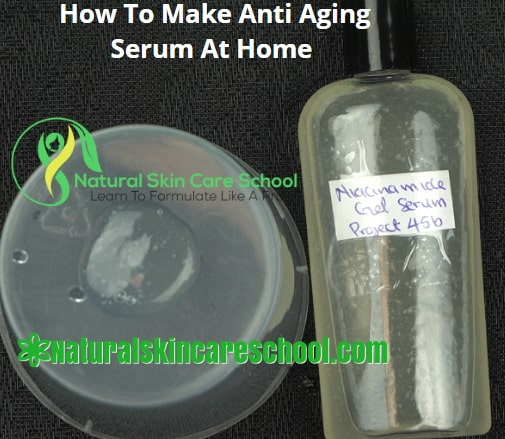 how to make anti aging facial serum