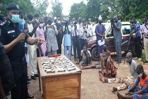 kidnappers arrested ibadan