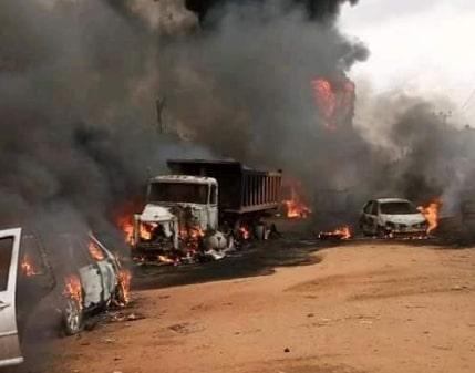 tanker explosion moniya ibadan