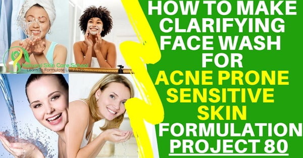 how to make bha face cleanser acne
