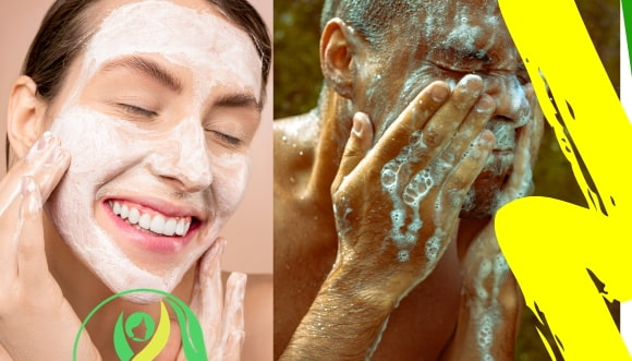 how to make foaming face wash at home