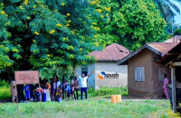 push foundation clean water project
