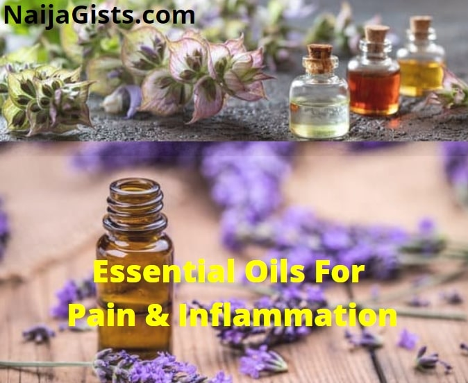essential oils for pain inflammation swelling