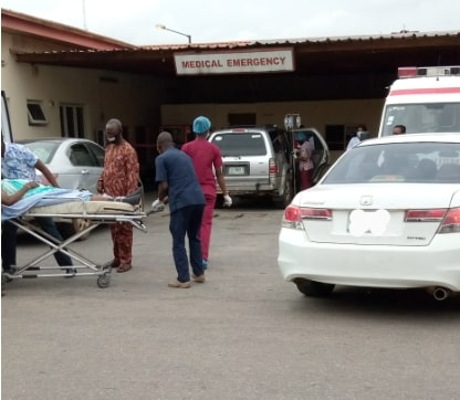 my experience nigeria hospital today