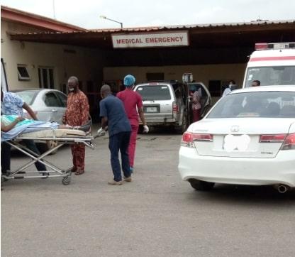 my experience nigeria hospital today