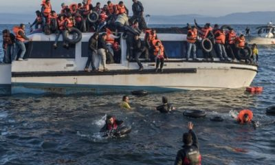 greece abandoned african migrants sea