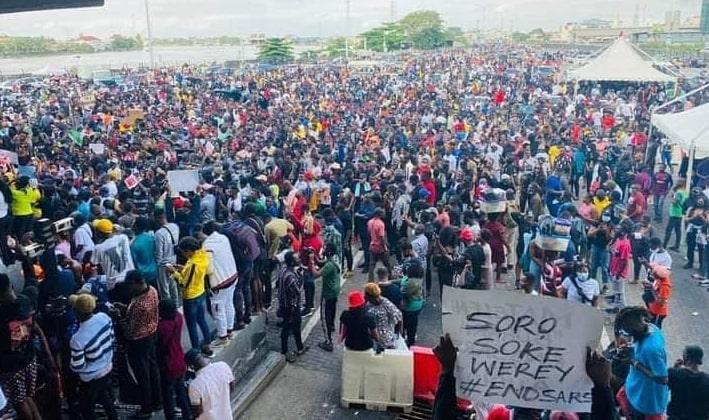 end sars protest nigeria