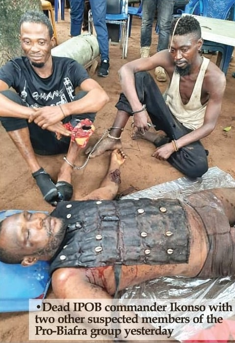 ipob commander killed imo state