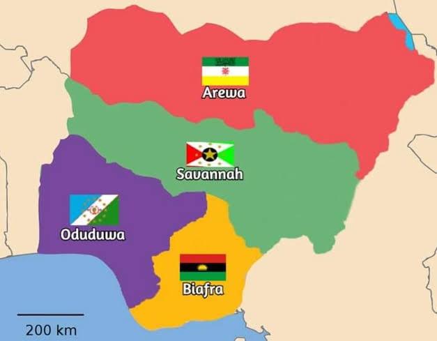 nigeria divide 3 in 2021