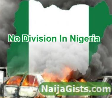 division will destroy nigeria