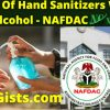 hand sanitizer with methanol wood alcohol