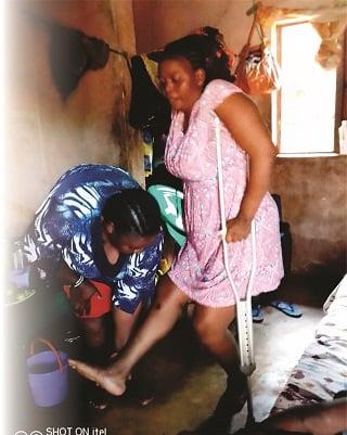 woman dumped husband warri