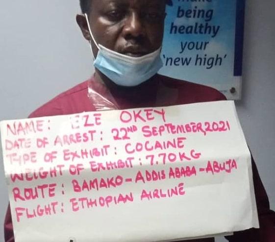 nigerian drug dealer arrested in abuja